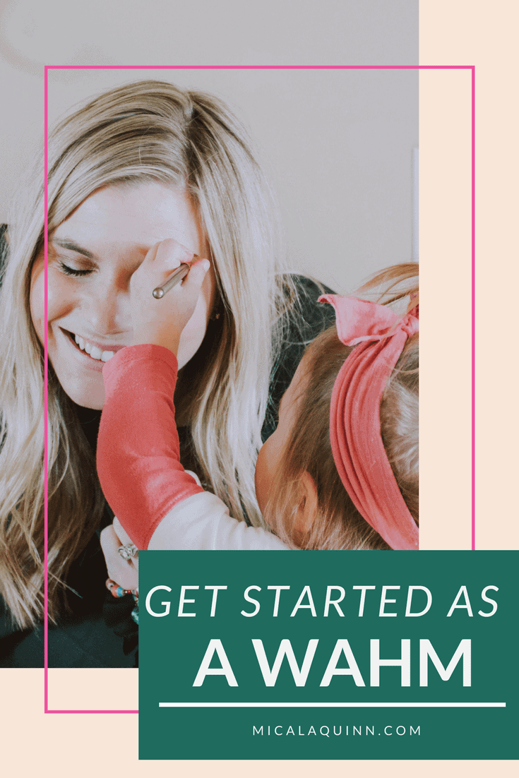 Ready to be a work from home mom? Here are 5 essential steps you need to take to get started building your business today.