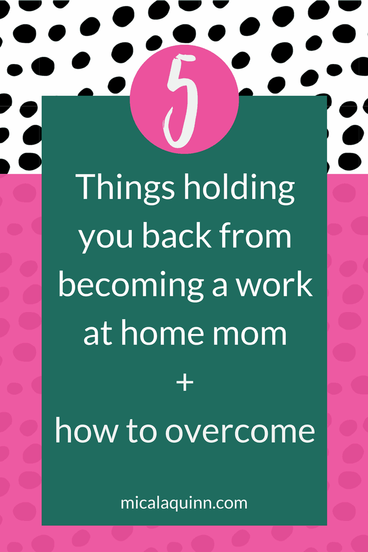 Do you want to work from home? Don't let these five things hold you back.