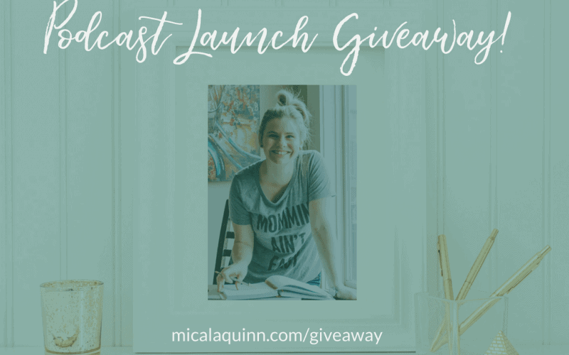 Live Free, Mama Podcast Launch Giveaway