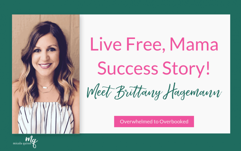 WAHM Success Story with Live Free Mama: Meet Brittany