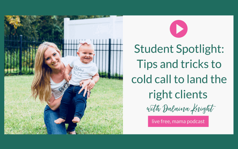 18: Student Spotlight: Tips and tricks to cold call to land the right freelance clients