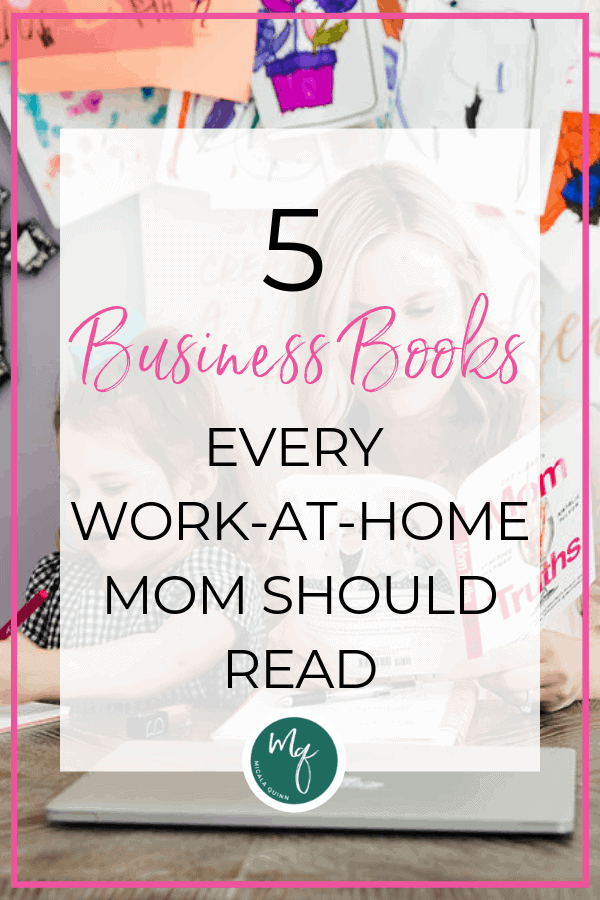 work-at-home mom reading
