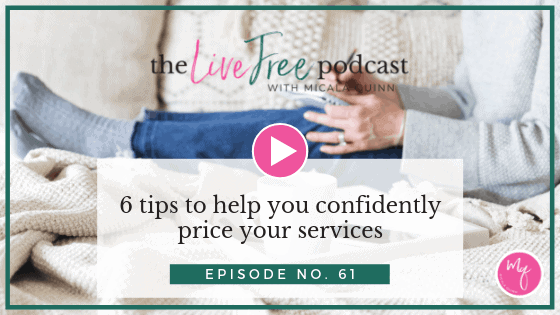 6 tips to help you confidently price your services