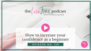 How to increase your confidence as a beginner
