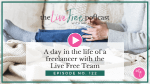 A day in the life of a freelancer with the Live Free Team